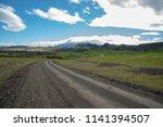rural area near hekla volcano...   Shutterstock . vector #1141394507