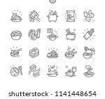 pasta well crafted pixel... | Shutterstock .eps vector #1141448654