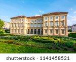 liechtenstein city palace in... | Shutterstock . vector #1141458521