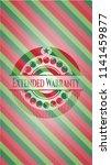 extended warranty christmas... | Shutterstock .eps vector #1141459877