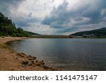 sea   dam in black forest  ... | Shutterstock . vector #1141475147