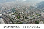 aerial view of cityscape at... | Shutterstock . vector #1141479167