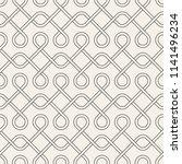 vector seamless pattern. modern ... | Shutterstock .eps vector #1141496234