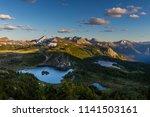 rock isle lake  sunshine... | Shutterstock . vector #1141503161