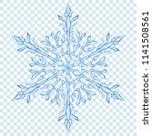 big translucent christmas... | Shutterstock .eps vector #1141508561