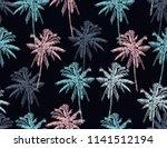 beautiful botanical vector... | Shutterstock .eps vector #1141512194