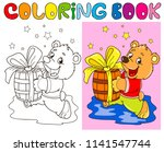 coloring page outline of... | Shutterstock .eps vector #1141547744