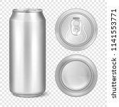 vector realistic 3d empty... | Shutterstock .eps vector #1141553771