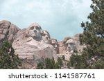 image of beautiful mount... | Shutterstock . vector #1141587761
