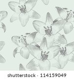 cute seamless pattern  with... | Shutterstock .eps vector #114159049