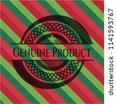 genuine product christmas style ... | Shutterstock .eps vector #1141593767