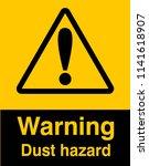 dangrous corrosive substance...   Shutterstock .eps vector #1141618907
