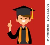 male college  university...   Shutterstock .eps vector #1141632701