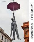 prague  czech republic  ... | Shutterstock . vector #1141635824