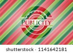 publicity christmas style... | Shutterstock .eps vector #1141642181