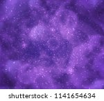 fantastic cosmos illustration.... | Shutterstock . vector #1141654634