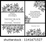 invitation greeting card with... | Shutterstock .eps vector #1141671527