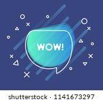 colorful questions speech... | Shutterstock .eps vector #1141673297