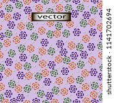 vector seamless illustration of ...   Shutterstock .eps vector #1141702694