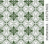 seamless pattern of tiles.... | Shutterstock .eps vector #1141714631