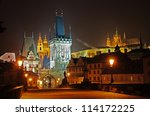 Charles Bridge  Prague  Czech...