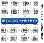 commerce and shopping vector... | Shutterstock .eps vector #1141723907