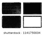vector grunge stamps.distress... | Shutterstock .eps vector #1141750034