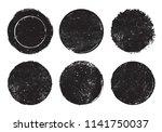 vector grunge stamps.distress... | Shutterstock .eps vector #1141750037