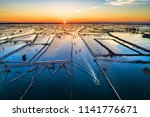 Aerial View Of Fisherman On...
