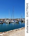lagos  portugal  july 24th ... | Shutterstock . vector #1141778141