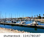 lagos  portugal  july 24th ... | Shutterstock . vector #1141780187
