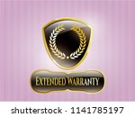 gold badge or emblem with... | Shutterstock .eps vector #1141785197
