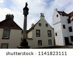 mercat cross  a square in... | Shutterstock . vector #1141823111