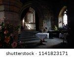culross  scotland   june 15 ... | Shutterstock . vector #1141823171