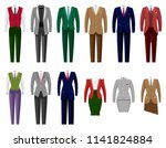 business suit vector mail or... | Shutterstock .eps vector #1141824884