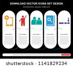 5 vector icons such as ipad...