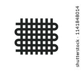 weaving vector icon | Shutterstock .eps vector #1141848014