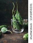 wild bitter gourd  bitter... | Shutterstock . vector #1141853231