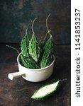 wild bitter gourd  bitter... | Shutterstock . vector #1141853237