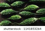 wild bitter gourd  bitter... | Shutterstock . vector #1141853264