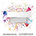 celebrations background with...   Shutterstock .eps vector #1141891424