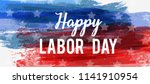 usa labor day holiday... | Shutterstock .eps vector #1141910954
