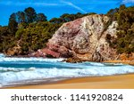 aslings beach  to be found in... | Shutterstock . vector #1141920824
