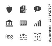 modern simple vector icon set.... | Shutterstock .eps vector #1141927907