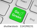 Go Green Button On Keyboard...