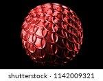 3d render metal isolated ... | Shutterstock . vector #1142009321