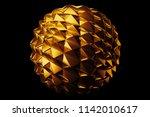 3d render metal isolated ... | Shutterstock . vector #1142010617