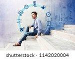 business managament concept.... | Shutterstock . vector #1142020004