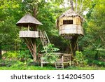 Cute Wooden Tree House For Kid...