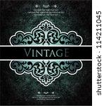 vintage background   Shutterstock .eps vector #114211045